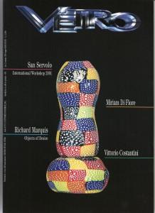 vetro magazine 2001 - copertina