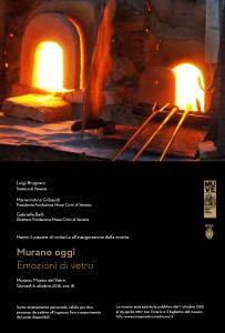 MURANO OGGI 2016 - Emozioni di Vetro