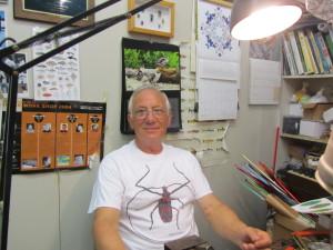 Vittorio in negozio